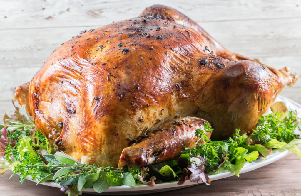 cheesecloth herb butter turkey